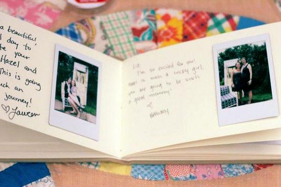 libro invitados polaroid