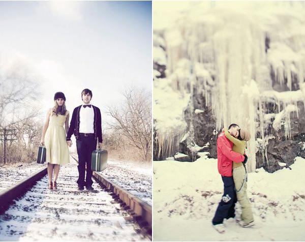 boda navidad nieve