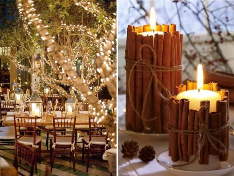 decoracion boda navidad
